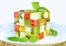 Cubos da cor dos frutos Imagem de Stock Royalty Free