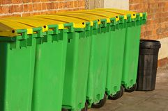 Cubos de basura 03 Fotos de archivo