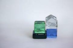 Cubos de cristal foto de archivo