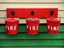 Cubos de fuego Imagen de archivo