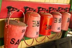 Cubos de fuego Imagen de archivo libre de regalías