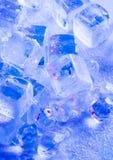 Cubos de gelo Imagem de Stock