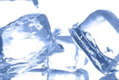 Cubos de gelo Fotos de Stock Royalty Free