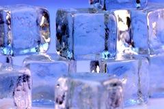 Cubos de gelo Foto de Stock Royalty Free
