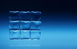 Cubos de gelo Imagem de Stock Royalty Free