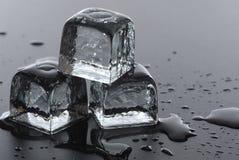 Cubos de gelo Fotografia de Stock