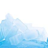 Cubos de gelo de derretimento Foto de Stock