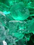 Cubos de gelo de derretimento Fotos de Stock Royalty Free