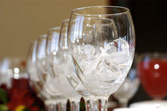 Cubos de gelo de derretimento Imagem de Stock Royalty Free