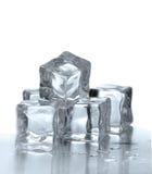Cubos de hielo Foto de archivo