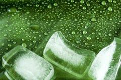 Cubos de hielo Imágenes de archivo libres de regalías