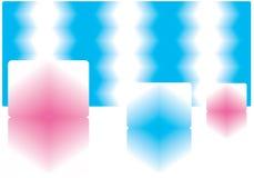 Cubos de hielo. Imagen de archivo
