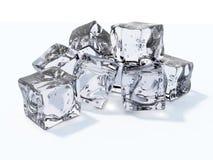 Cubos de hielo stock de ilustración