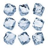 Cubos de hielo Imagenes de archivo