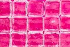 Cubos de hielo de fusión Imágenes de archivo libres de regalías