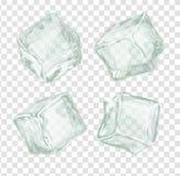 Cubos de hielo fijados libre illustration