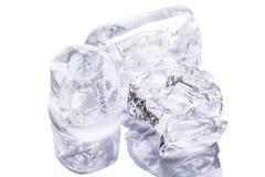 Cubos de hielo II Foto de archivo libre de regalías