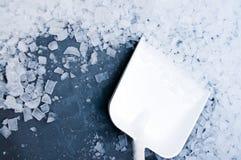 Cubos de hielo industriales Imagenes de archivo