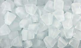 Cubos de hielo para el fondo Fotografía de archivo libre de regalías
