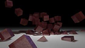 Cubos de la jalea ilustración del vector