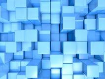 Cubos de turquesa Imagens de Stock