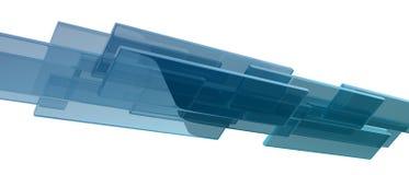 Cubos de vidro Imagens de Stock