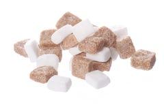 Cubos del azúcar Imágenes de archivo libres de regalías