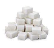 Cubos del azúcar Imagen de archivo libre de regalías