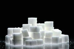 Cubos del azúcar Foto de archivo