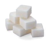 Cubos del azúcar Fotos de archivo libres de regalías