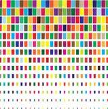 Cubos del color Foto de archivo libre de regalías