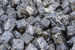 Cubos del metal Fotografía de archivo