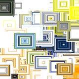 8 cubos del pedazo ilustración del vector