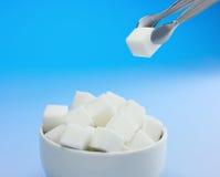 Cubos do açúcar Fotos de Stock Royalty Free