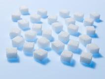 Cubos do açúcar Fotos de Stock