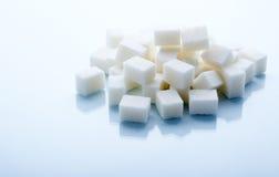 Cubos do açúcar Imagem de Stock Royalty Free
