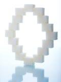 Cubos do açúcar Fotografia de Stock Royalty Free