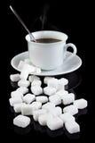 Cubos do açúcar Imagem de Stock