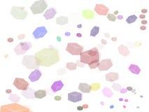 Cubos multicolores Imagen de archivo