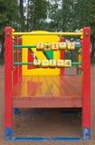 Cubos no campo de jogos Fotografia de Stock Royalty Free