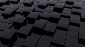 Cubos oscuros Imagen de archivo