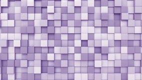Cubos púrpuras móviles almacen de video