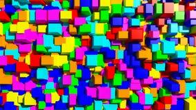 Cubos redondos de los bordes Imagen de archivo libre de regalías