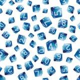 Cubos sem emenda ilustração royalty free