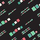 Cubos sem emenda do grunge do teste padrão Fotografia de Stock