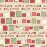 Cubos sem emenda do grunge do teste padrão Imagens de Stock