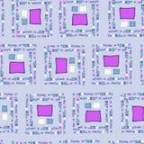 Cubos sem emenda do grunge do teste padrão Fotos de Stock Royalty Free