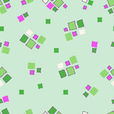 Cubos sem emenda do grunge do teste padrão Foto de Stock