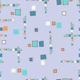 Cubos sem emenda do grunge do teste padrão Imagem de Stock Royalty Free