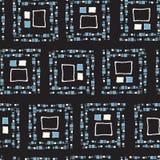 Cubos sem emenda do grunge do teste padrão Fotografia de Stock Royalty Free